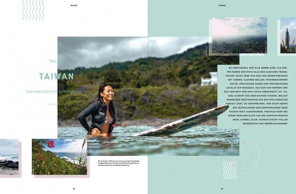 Seite aus Golden Ride Surf 'Finding Paradise'