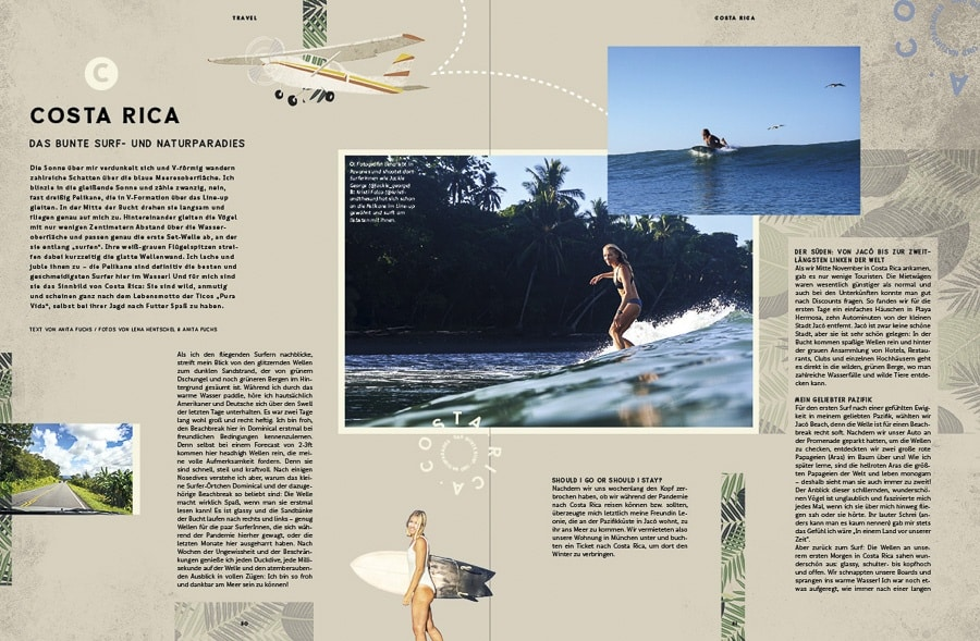 Golden Ride On the road Surfmagazin
