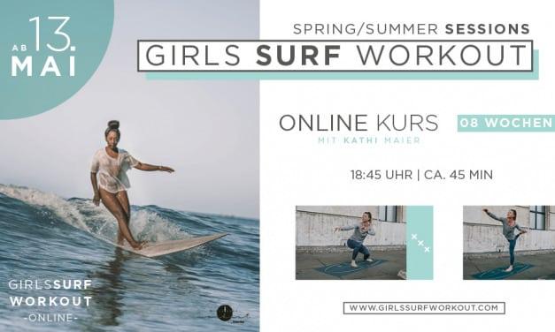 Girls Surf Workout – der neue Kurs startet am 13. Mai 2021