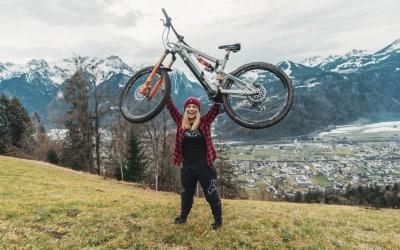 Mountainbiken in Vorarlberg – Spotguide mit Melanie Bianchi