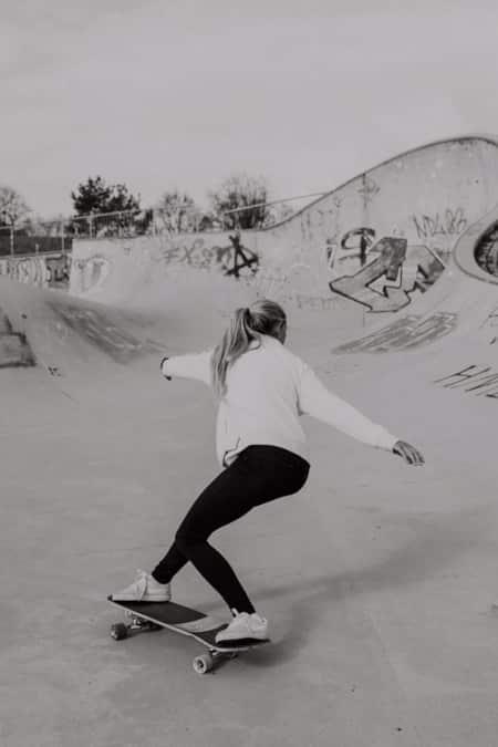 Surfskate Frontside Carve Schritt 10