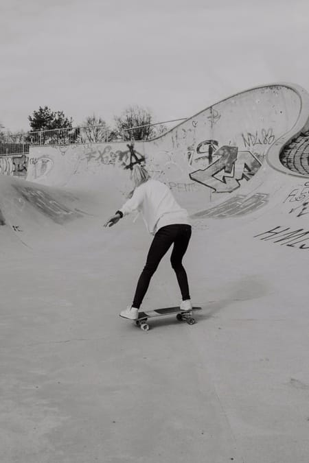 Surfskate Frontside Carve Schritt 12