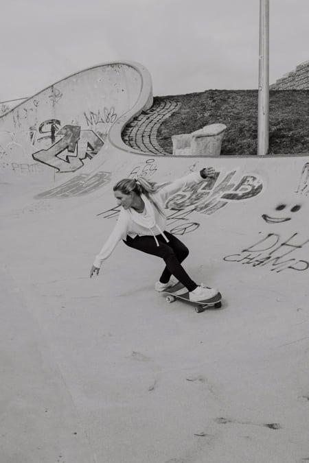 Surfskate Frontside Carve Schritt 8