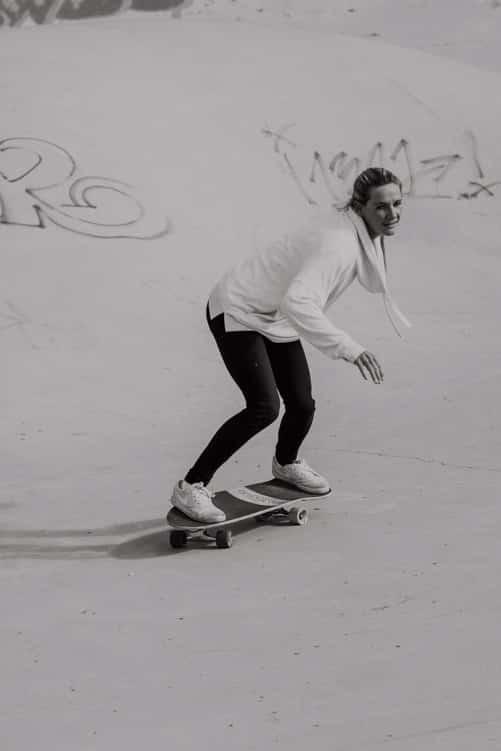 Surfskate Frontside Schritt 4