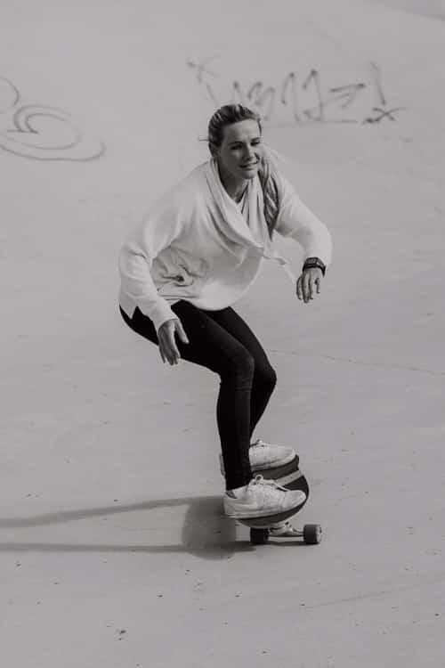 Surfskate Frontside Schritt 6