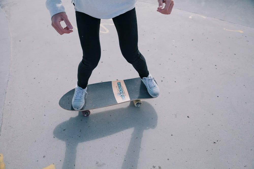 Der richtige Surfskate Stance