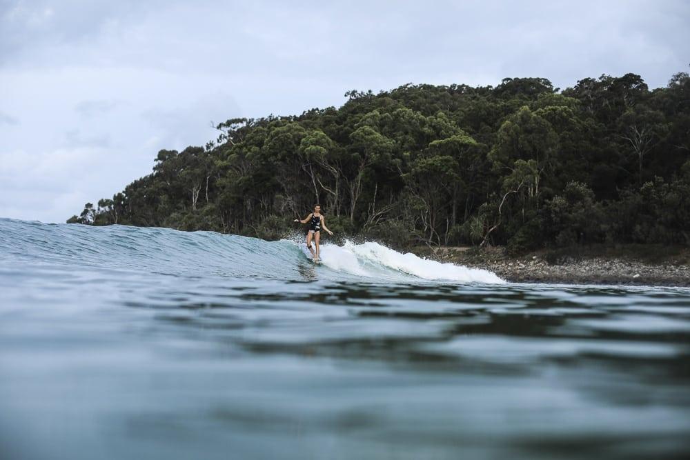 Zoé Grospiron Longboarding