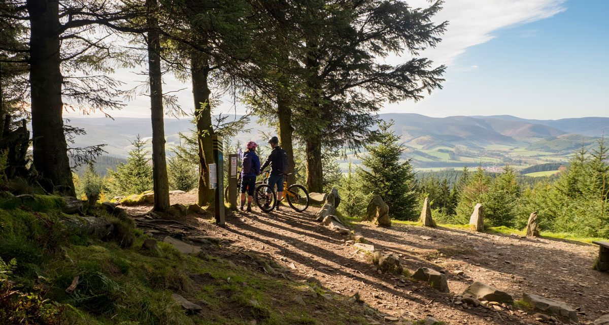 Mountainbiken in Schottland – 7 Stanes