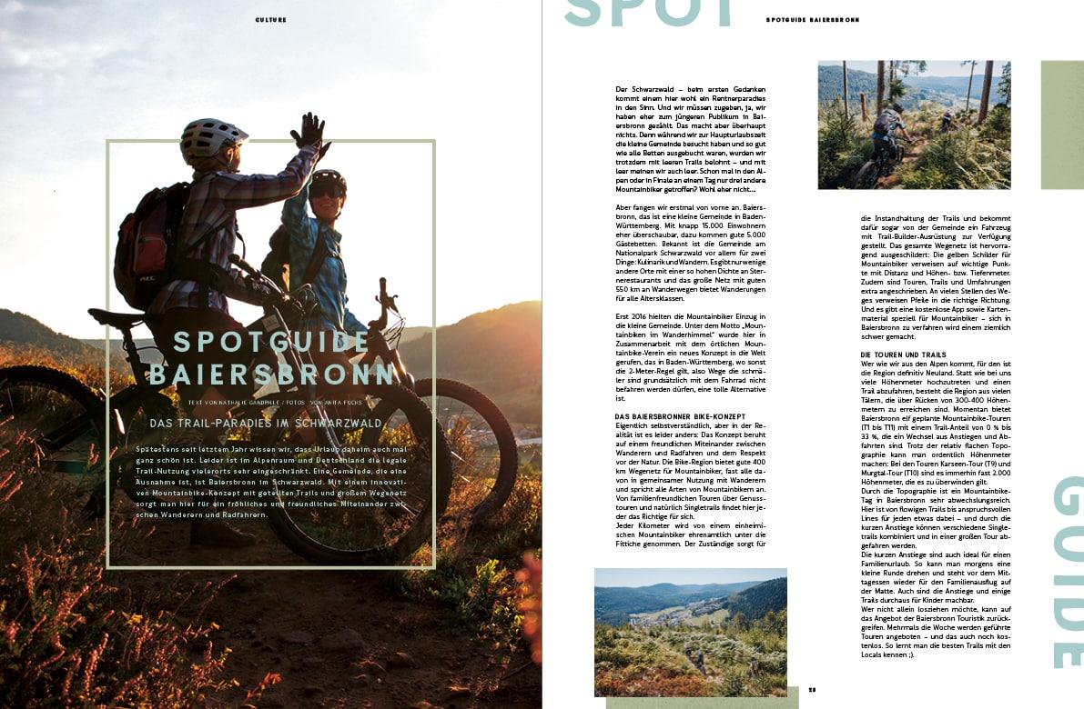 Golden Ride MTB Magazin, Baiersbronn