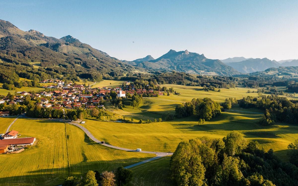 Chiemgauer Landschaft