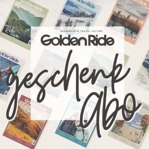 Golden Ride Geschenkabo