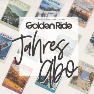 Golden Ride Jahres Abo