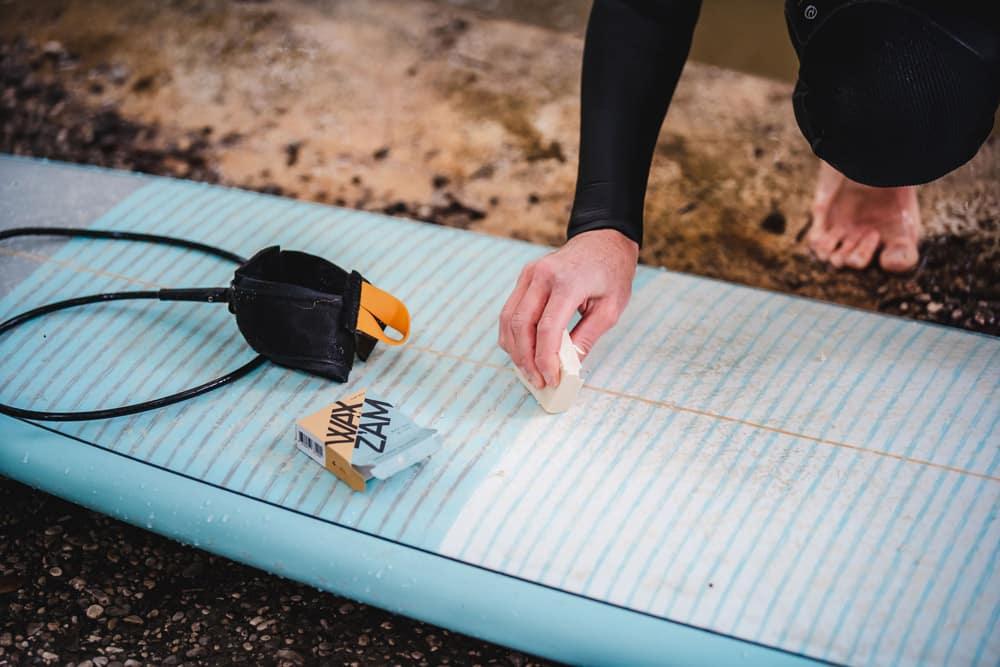 Board wachsen mit Wax Z'am