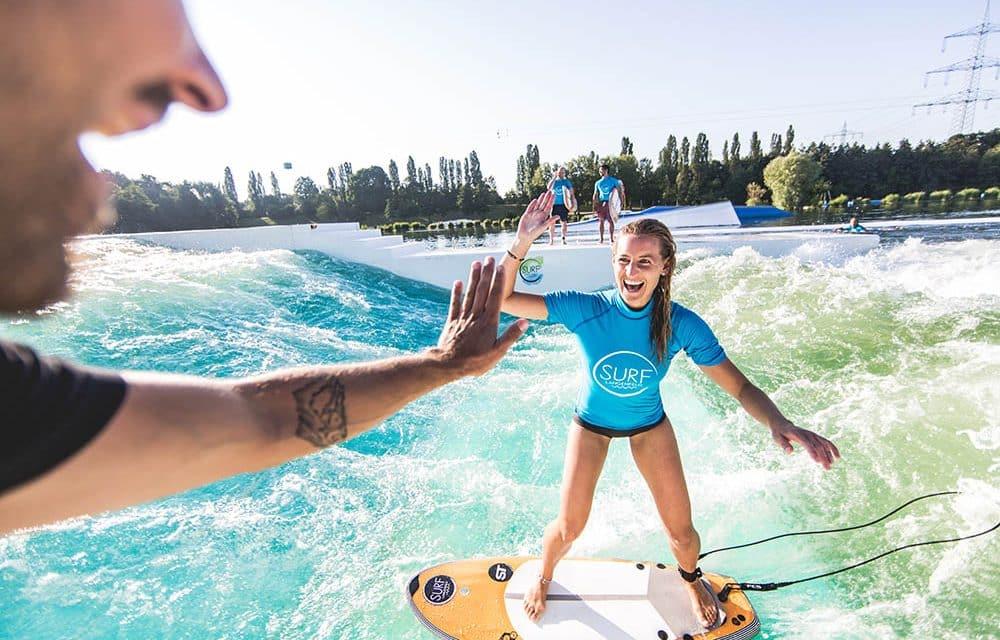 Surfen in der DACH-Region: Alle Wellen auf einen Blick