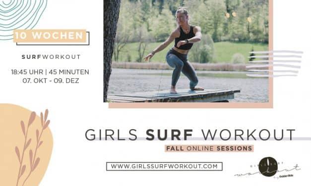 Girls Surf Workout – Surf-Fitness im Herbst 2021